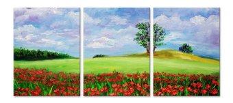 Mua Tranh Canvas Đồi Hoa Saigonposter D330A giá tốt nhất