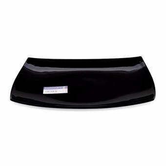 Đĩa thủy tinh Pháp Luminarc Quadrato Black chữ nhật 35*25cm D6408