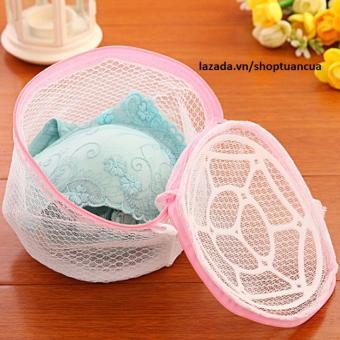 Túi đựng đồ Huy Tuấn Washing Bag (Trắng phối hoa)