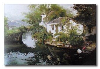 Tranh in canvas sơn dầu Thế Giới Tranh Đẹp Scenery 096