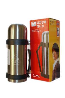 Bình giữ nhiệt nóng lạnh KINGFISH có dây đeo Hàn Quốc 750ml (Vàng)