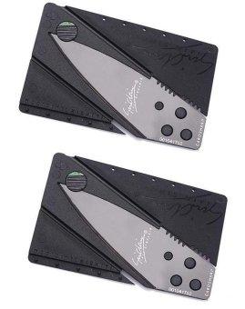 Bộ 2 dao gấp hình thẻ ATM SinClair (Đen)