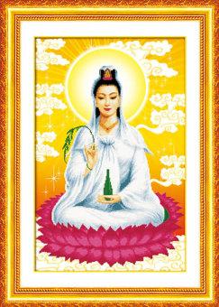 Tranh đính đá 5D Phật Bà Quan Âm 02