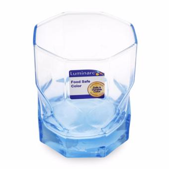 Bộ 6 ly thủy tinh thấp Luminarc Octime Diamond Ice Blue 300ml J7980