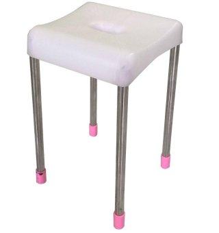 Ghế vuông cỡ cao chân inox