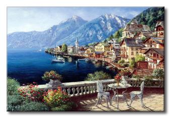 Tranh in canvas sơn dầu Thế Giới Tranh Đẹp Scenery 103