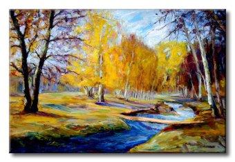 Tranh in canvas sơn dầu Thế Giới Tranh Đẹp Scenery 040
