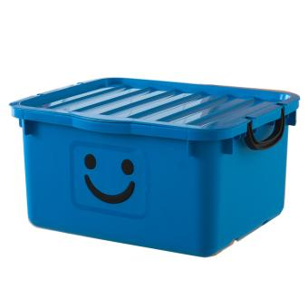 Thùng nhựa size lớn Happy Box Yuwon PS YW-09 (Xanh da trời)