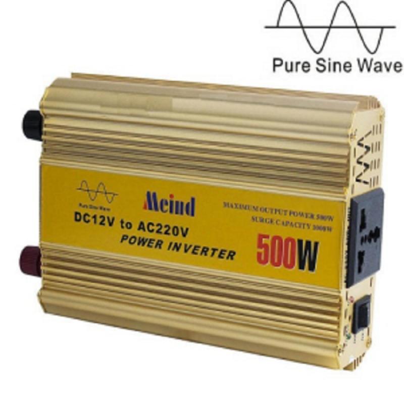 Bảng giá Mua Inverter - máy kích điện 500w sin chuẩn đổi điện từ 12V sang 220V