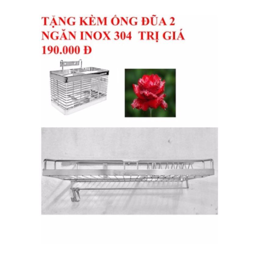 Hình ảnh Kệ để chén đĩa 1 tầng Inox 304 (28x50)