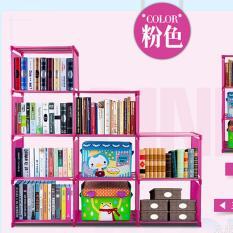 Trang bán Kệ Để Sách 4 Tầng 9 Ngăn ( Tặng Hộp Đựng Giày )