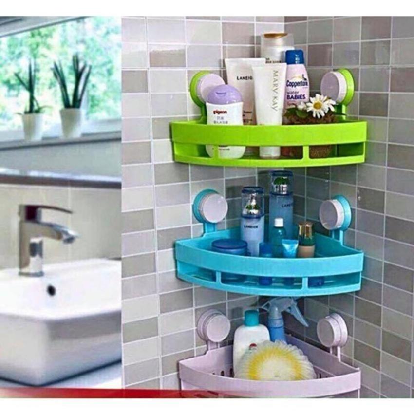 Kệ đựng đồ nhà tắm hít chân không hình tam giác