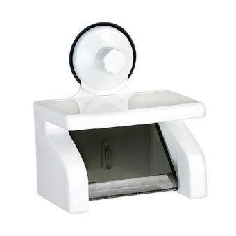 Kệ đựng giấy vệ sinh hít chân không có khay để điện thoại-kstore