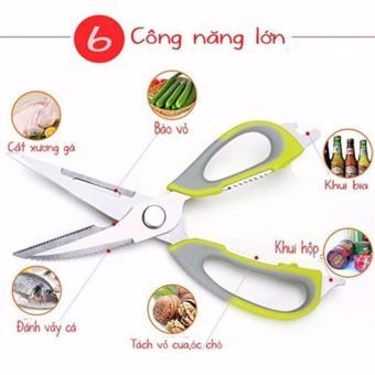 Kéo cắt gà đa năng 2 trong 1, có thể tháo dời thành dao