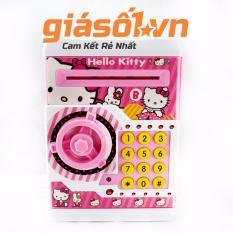 Két đựng tiền mini thông minh Hello kitty - 001 (Hồng)