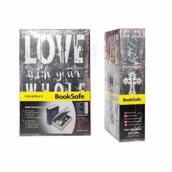 Két sắt mini chữ LOVE- Khóa chìa
