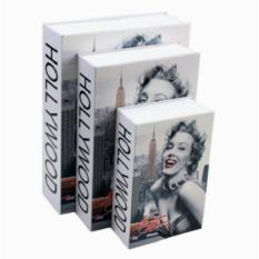 Két sắt mini giả sách khóa số - Ngôi sao Hollywood
