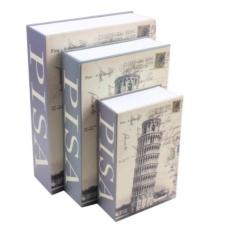 Két sắt mini giả sách khóa số - Tháp Nghiêng PISA