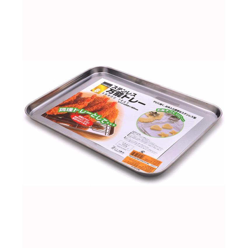 Khay inox chứa đồ nhà bếp Inomata hàng nhập khẩu Nhật Bản