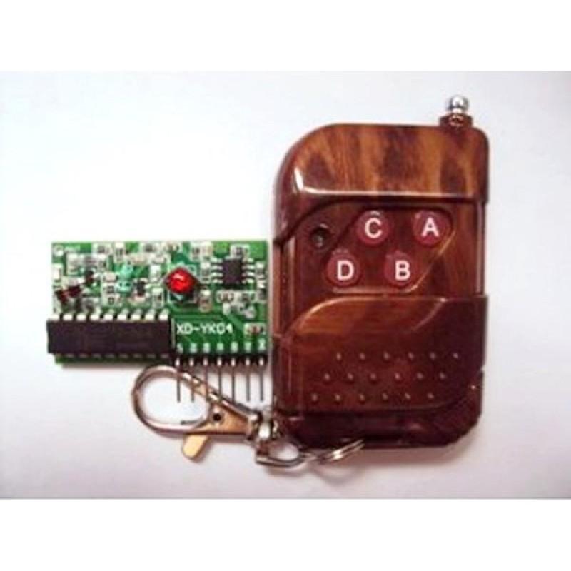 Khiển từ xa +mạch thu RF 315Mhz PT2272-L4