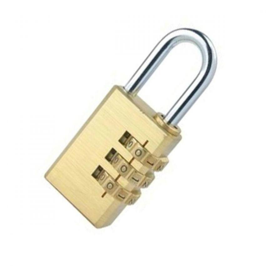 Khóa bấm mật khẩu 3 số YETI  YETI-ITALY 330 (Vàng)