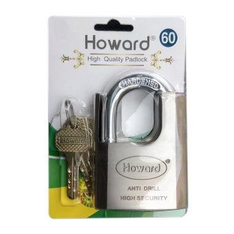 Khóa chống khoan cắt Howard 60 (Bạc)