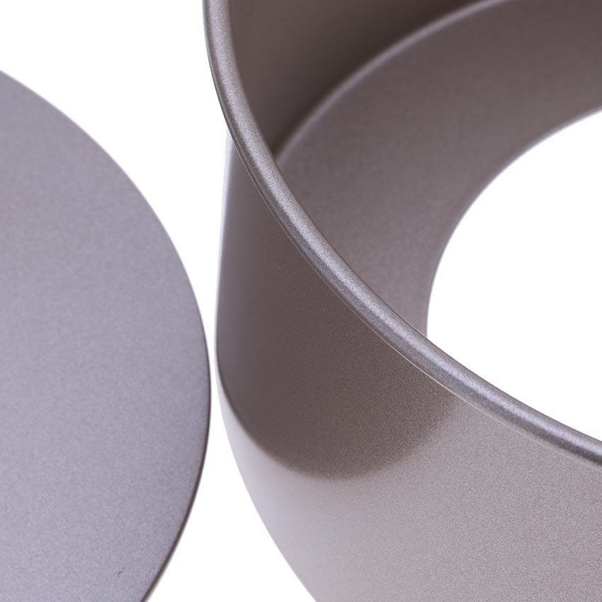 Khuôn bánh tròn đế rời BREADLEAF HT0085-ĐR 6 inch (Nâu Đồng)