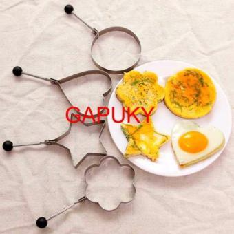 Khuôn chiên trứng opla (hình ngẫu nhiên) Gapuky