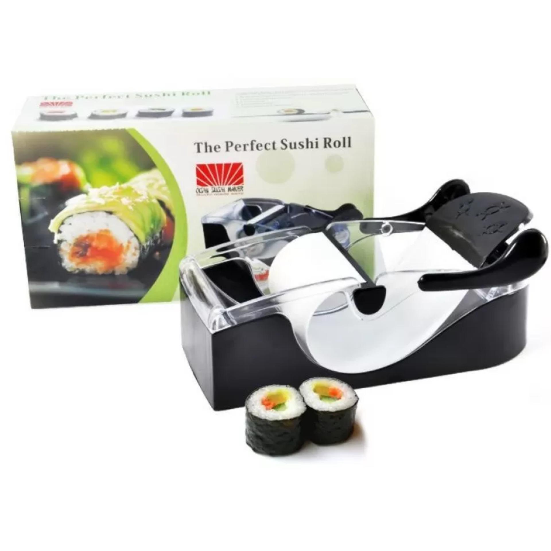 Khuôn làm Sushi chuyên dụng Perfect Roll (Đen)