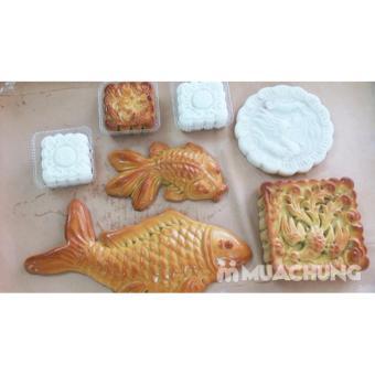 Khuôn nhôm trung thu hình con cá chép nhỏ - 3