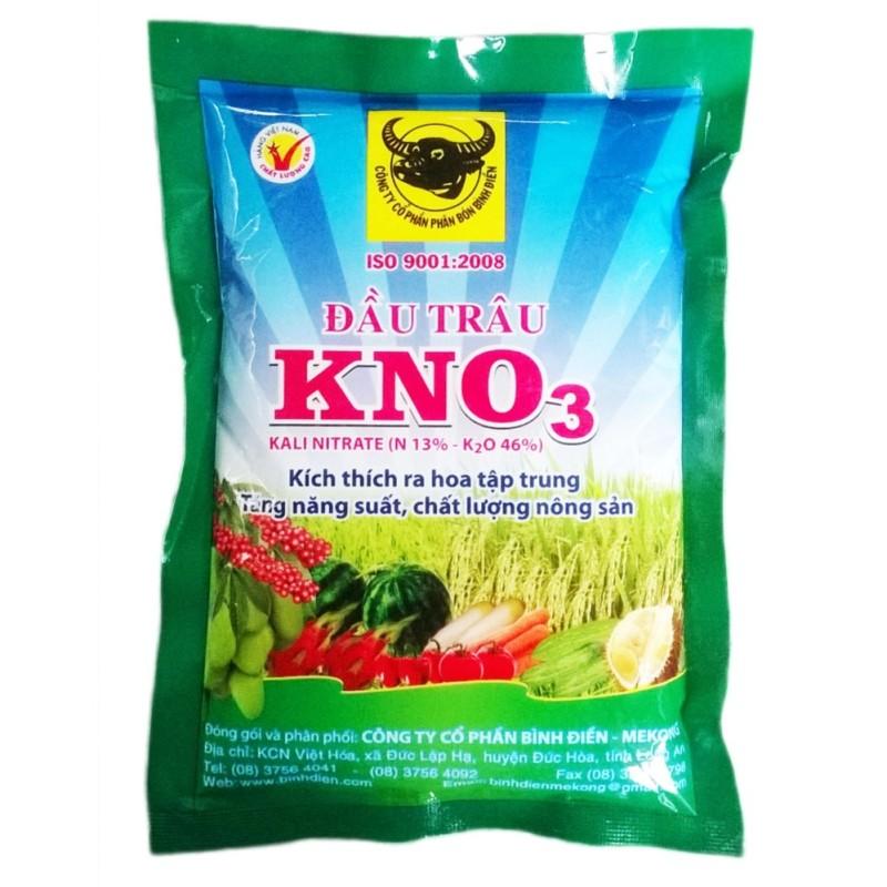 Bảng giá KNO3 200g đầu trâu kích thích ra hoa đậu trái tập trung (white)