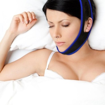 kobwa Adjustable Anti Snore Chin Strap - Instant Effective Stop Snoring Solution and Natural Snore Relief Device for Mouth Breathers - intl