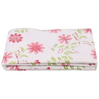 LALANG PVC Waterproof Dandelion Tablecloth (Red)