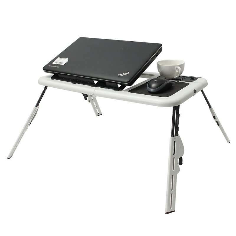 Laptop Desk Portable Table Bed Sofa Folding Adjustable Width Stand Tray