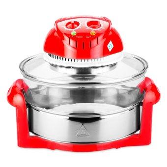 Lò nướng thủy tinh Tiross TS967 12L (Đỏ)
