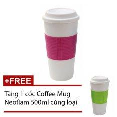 Nơi Bán Ly giữ nhiệt Coffee Mug Neoflam (Hồng) + Tặng 1 cốc CoffeeMugNeoflam (Xanh lá)