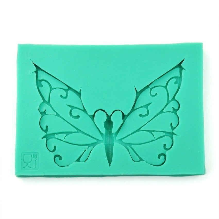LZ Butterfly Shape Cake Decorating Kit Cake Design Supplies Green - intl