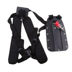 MagiDeal Double Shoulder Harness Strap For Brush Cutter &Trimmer with Carry Hook - intl