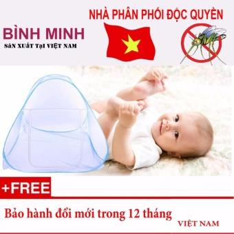 Màn chụp tự bung BÌNH MINH loại 1 cửa 1m8 x 2m - Hàng Việt Nam sản xuất