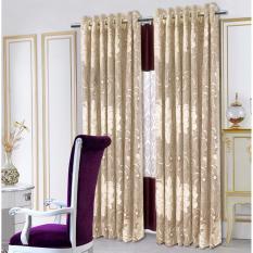 Nơi mua Màn cửa đơn khoen Miss Curtain 135x220cm (521-Coffee)