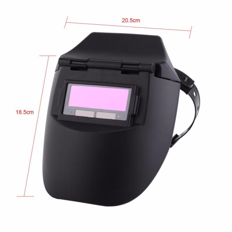 Mặt nạ hàn cảm biến điện tử CHỐNG LÓA, BẢO VỆ MẮT - phụ kiện cho máy hàn điện mini giá rẻ