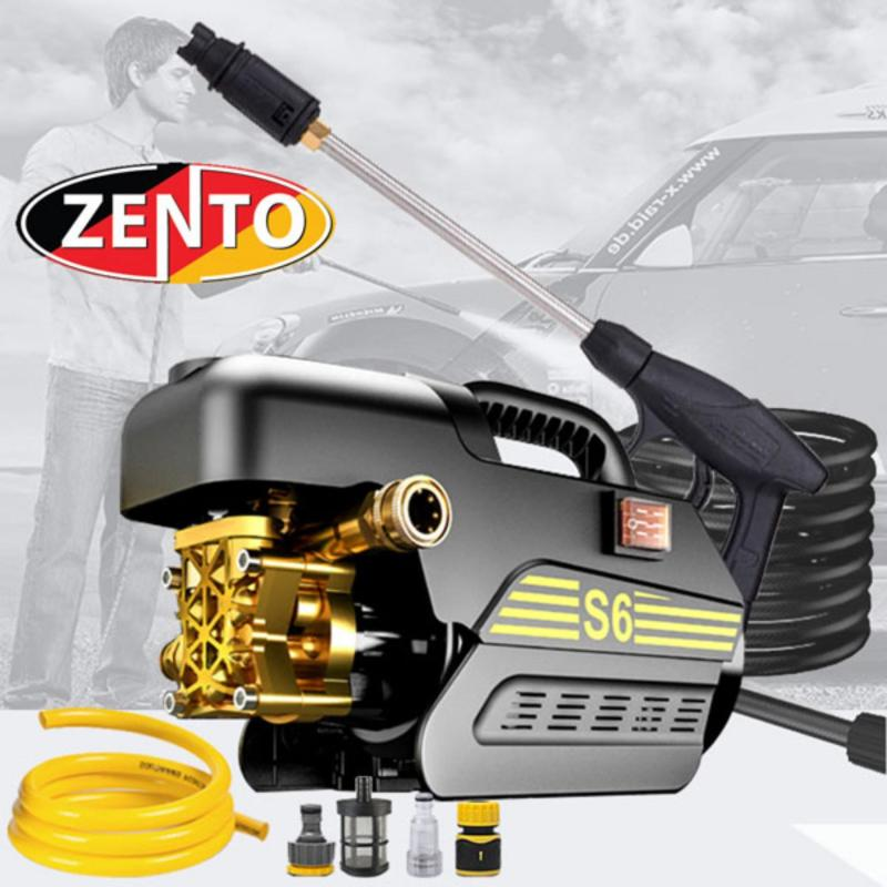 Máy bơm xịt - rửa xe áp lực cao đa năng Zento S6-Pro (1800W)
