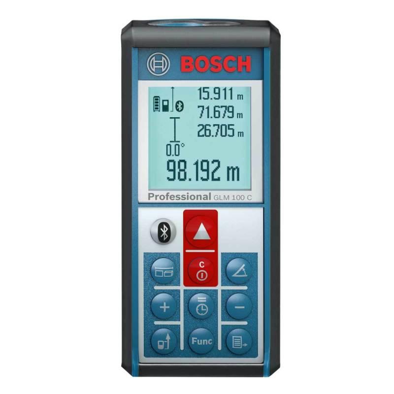 Máy cân mực 3 tia Bosch GLM100C (Xanh)