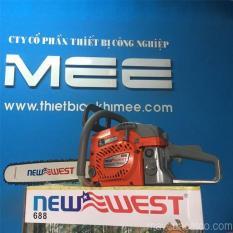 Máy cưa xích cầm tay chạy xăng New West 688 giá rẻ