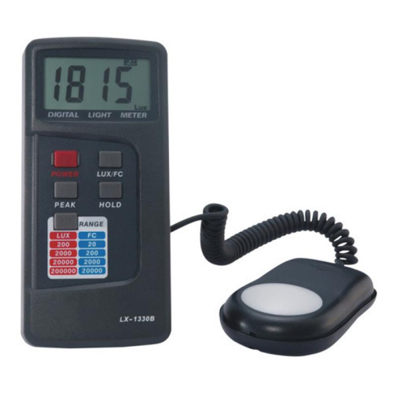 Máy đo cường độ ánh sáng THB LX-1330B (Đen)