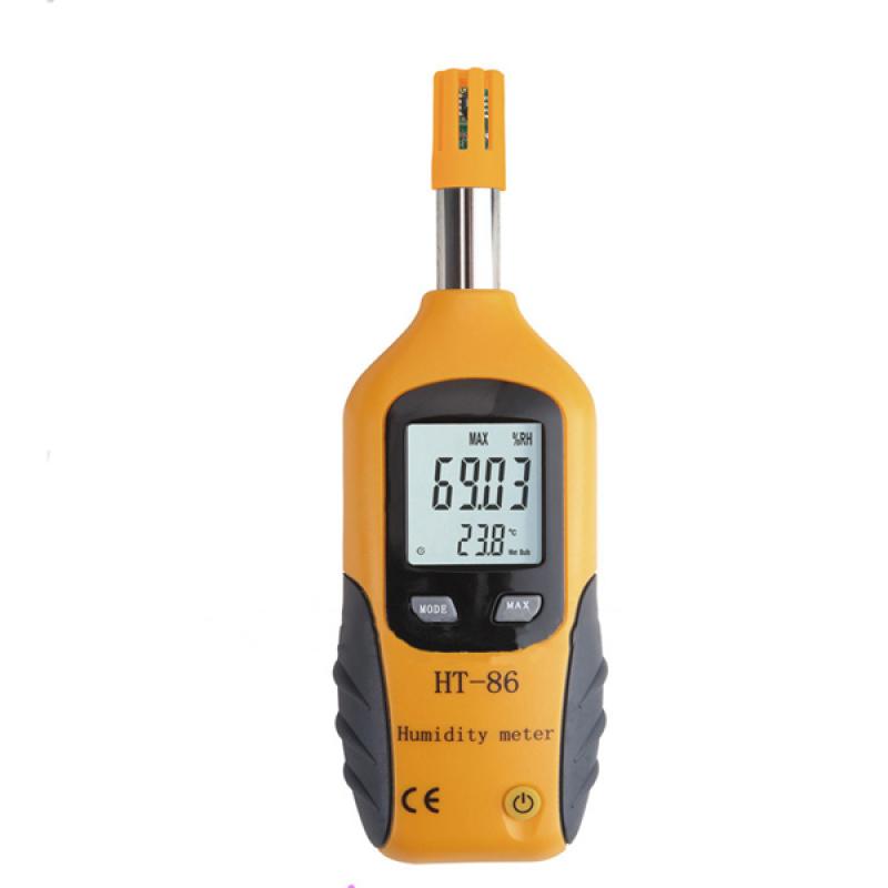 Máy đo độ ẩm và nhiệt độ môi trường THB HT-86 (Cam)