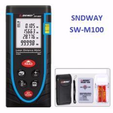 Máy đo khoảng cách bằng tia laser SNDWAY SW-M100 cự ly 100m GX-868B