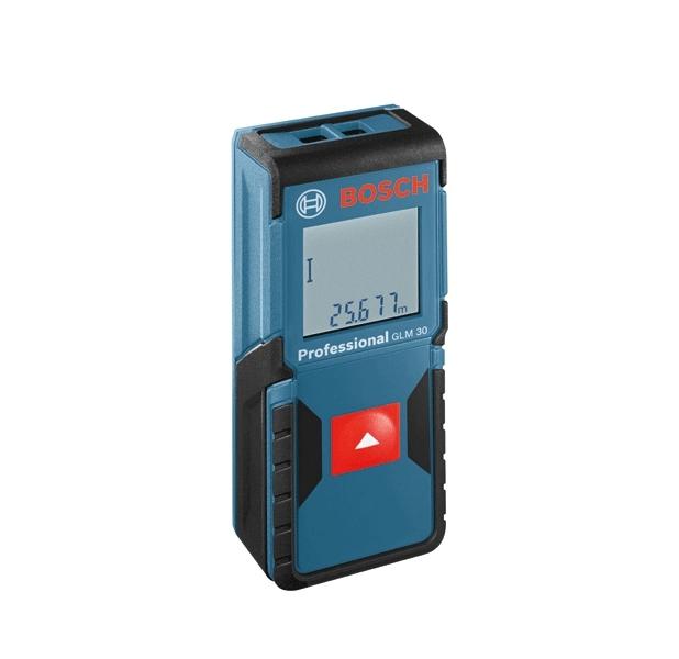 Máy đo khoảng cách laser Bosch GLM 30 (Xanh)
