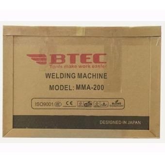 Máy hàn điện tử BTEC MMA-200(xác lớn)