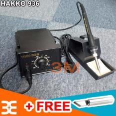Máy hàn hakko 936 có trạm điều khiển nhiệt độ tiện dụng tặng ngay 1 mũi hàn dao 900M T-K